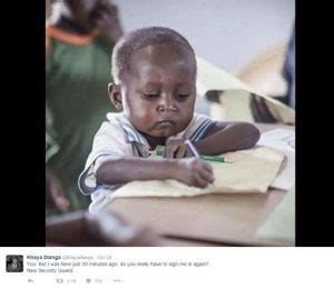 Little African Boy Meme - ghanaian boy who became a meme helps his village raise
