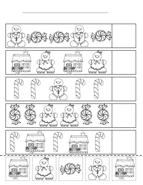 free printable gingerbread man worksheets gingerbread kindergarten activities search results