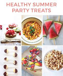 healthy summer party treats healthy ideas for kids