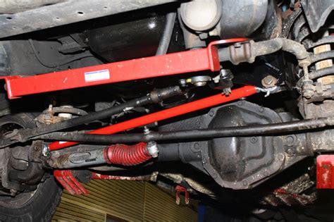 adjustable front track bar 1994 2002 dodge ram 4x4 1500