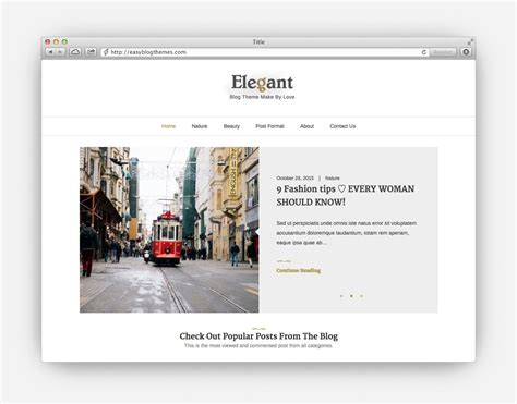 theme blog elegant the ultimate collection of the top minimalist wordpress