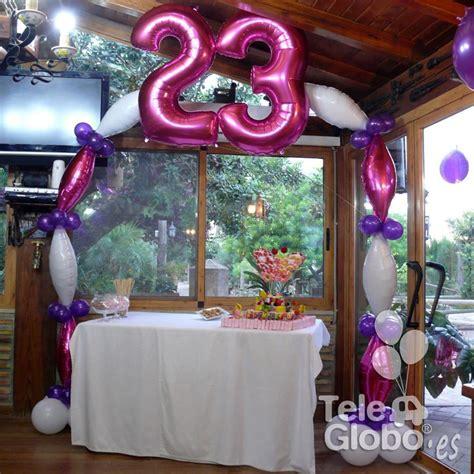 decoracion fiesta adultos decoraci 243 n con globos para 23 cumplea 241 os decoraciones