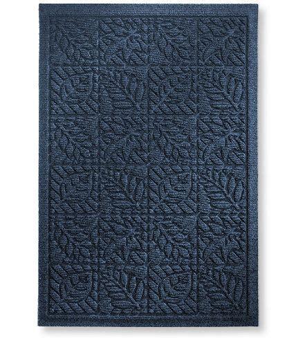 Ll Bean Doormats by Waterhog Indoor Doormat Leaf Pattern Waterhog Mats