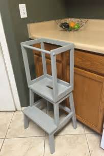 Kitchen Helper Stool Calgary The 25 Best Ideas About Learning Tower On