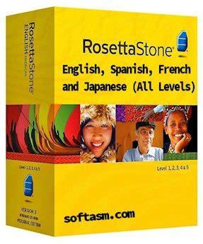 rosetta stone japanese level 4 rosetta stone 4 5 crack english spanish french japanese