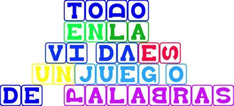 imagenes y palabras juego diente de le 243 n juegos de palabras