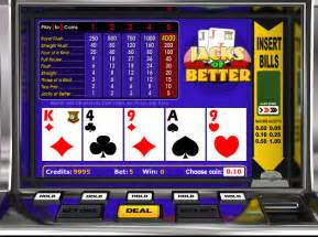 jacks or better play jacks or better slot at videoslots