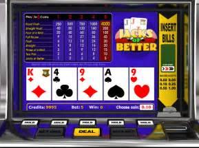 free jacks or better play free jacks or better with a bankroll at