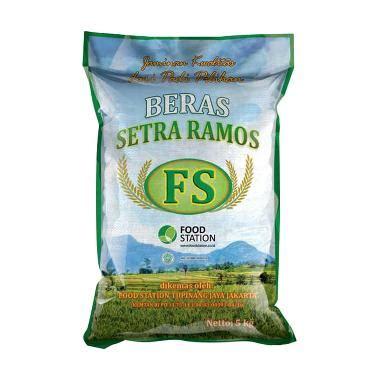 Beras Ramos Cap Bunga 5kg jual fs setra ramos beras 5 kg harga kualitas terjamin blibli