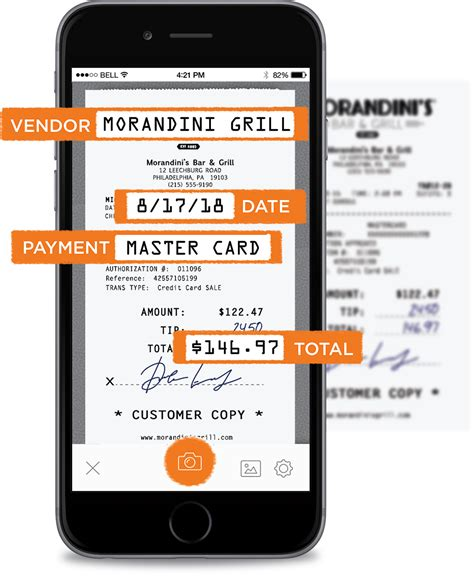 Neat Mobile Receipt Scanning App For Small Business Receipt Template App