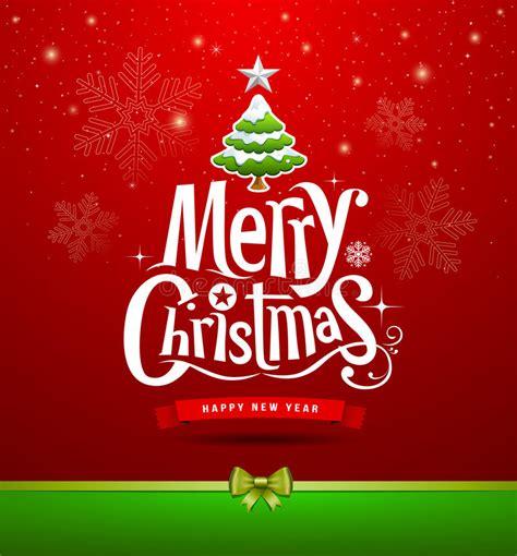merry christmas lettering design stock vector illustration  idea concept