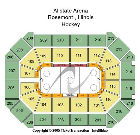 allstate arena seating chart allstate arena tickets in rosemont illinois allstate