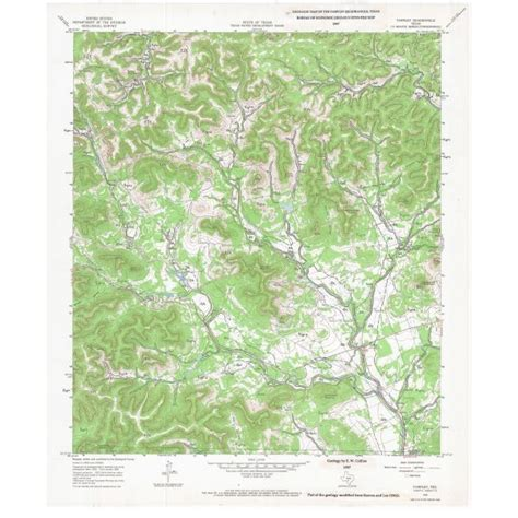 tarpley texas map ofm0005 tarpley quadrangle texas the bureau store