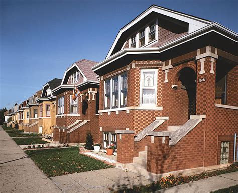 chicago brick bungalow house plans home photo style