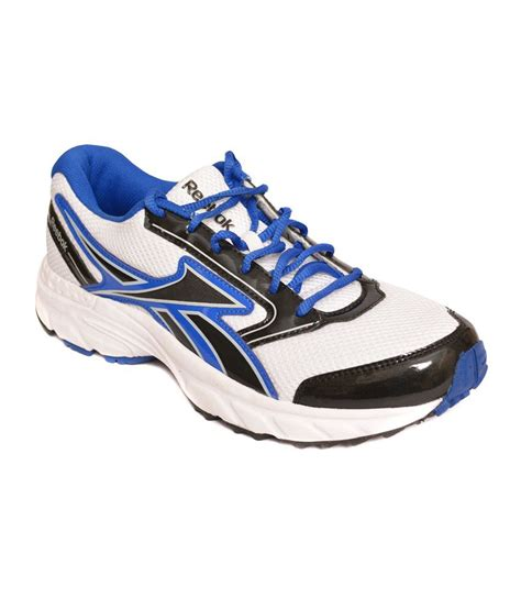 buy reebok blue and white sports shoes for snapdeal