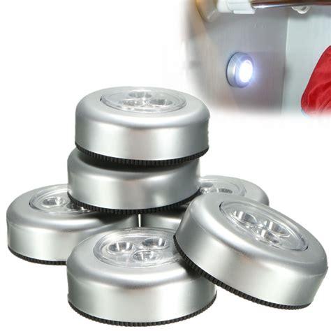 Desk Ls 6pcs Battery Operated 5w Led Night Lights Led Adhesive Lights