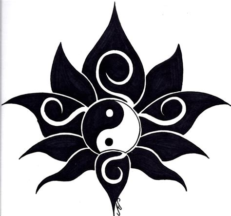tribal lotus tattoos tribal lotus design by nikolai bartolf on deviantart