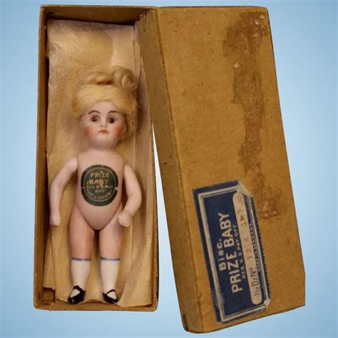 4 inch bisque doll 4 5 inch early all bisque doll prize baby with original