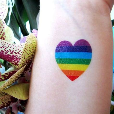 small rainbow tattoos 32 impressive rainbow designs sheideas