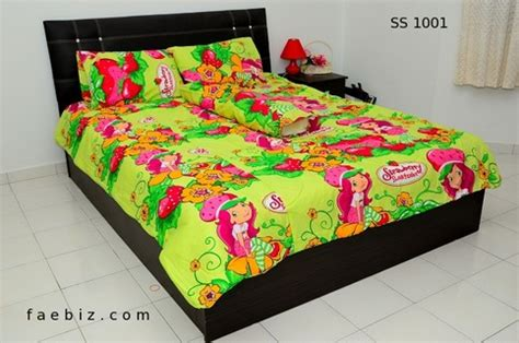 Strawberry Shortcake Queen Size Bedding Set Ss1001 On Storenvy Strawberry Shortcake Toddler Bedding Set