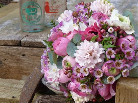 Wedding Bouquet January by Image Gallery January Flower Bouquet