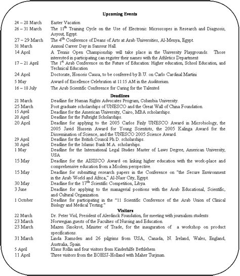 Bu Mba Program Deadline by Bu Weekly Bulletin