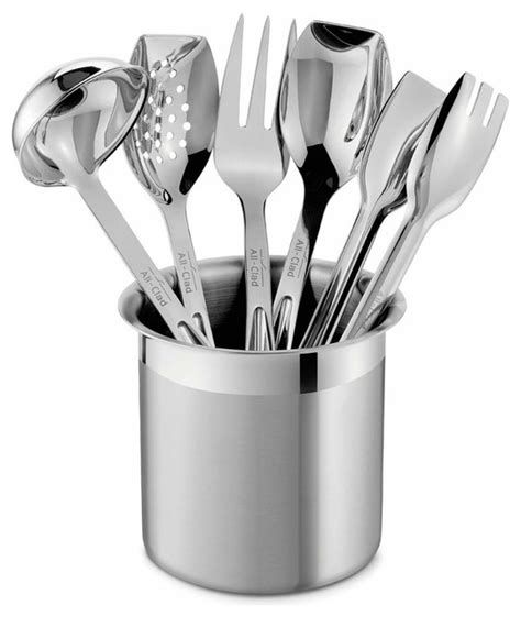 Living Room Lights by All Clad Ss Cook Serve Utensil Set Contemporary