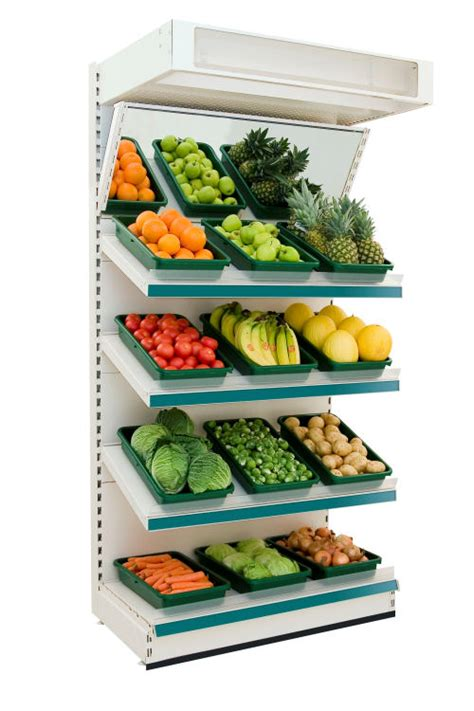 Shelf Of Oranges by Fruit And Vegetable Wall Shelving Retail Modular Shelving
