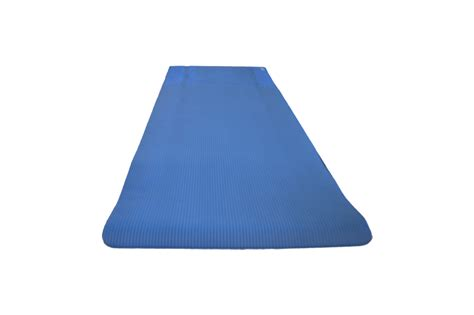 maha fitness products exercise mat thick blue live