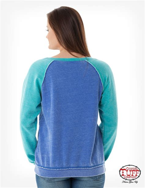 design turquoise hoodie blue and turquoise burnout sweatshirt with front horse