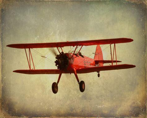 aviation home decor vintage antique airplane print by sevenelevenstudios