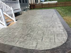 how to frame a sted concrete patio blackwater concrete