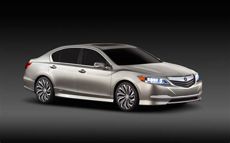 first acura 2014 acura rlx concept front right view