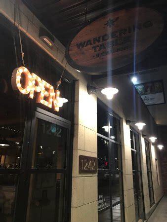 The Wandering Table Spokane Restaurant Reviews Phone