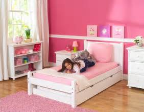 bed for kid white platform bed by maxtrix shown w trundle bed