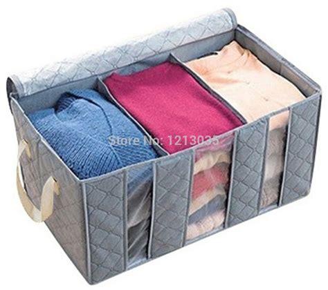 grey pattern storage box 1pcs huge gray folding plaid pattern non woven clothing