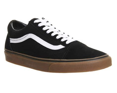 Vans Premium Surabaya Vans Oldskool Black Gum mens vans skool black gum sole trainers shoes ebay