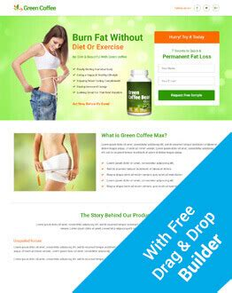 Lead Gen Weight Loss Squeeze Page Template With Free Landing Page Builder Olanding Real Estate Squeeze Page Templates