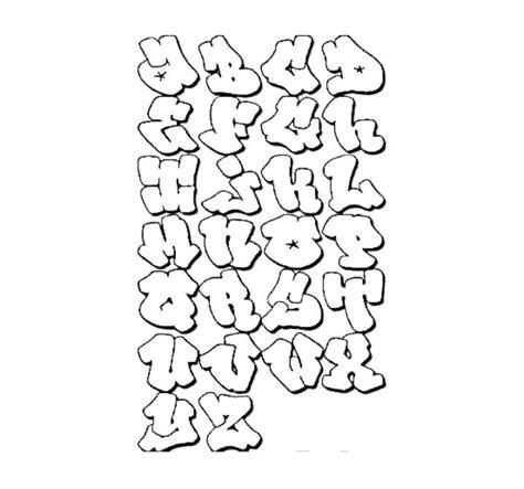 graffiti alphabet lettering hip hop coloring book