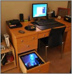 Laptop Desk Setup L Shaped Gaming Computer Desk