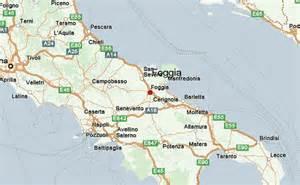 map of foggia italy foggia location guide