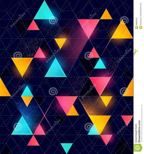 geometric neon pattern seamless neon geometric pattern stock photo image 69680528