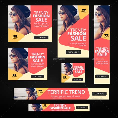 banner design envato fashion banners by doto graphicriver