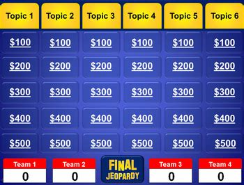 powerpoint games pack 5 customizable tv game show