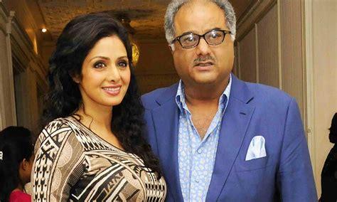 sridevi with her husband love affairs of sridevi sridevi tied rakhi on quot boney