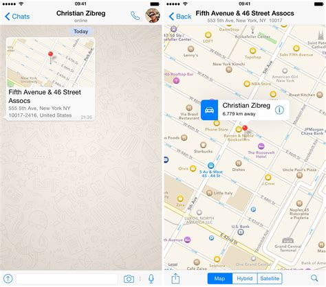 How To Find S Location On Whatsapp Whatsapp For Iphone Receives A Dozen New Features In Update