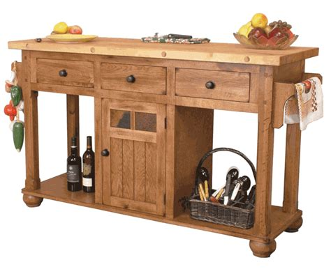 small butcher block kitchen island rustic oak kitchen island butcher block oak kitchen