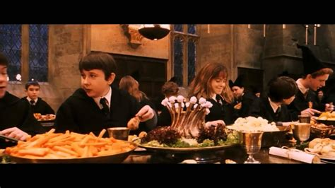 harry potter dinner let the feast begin harry potter and the philosopher s