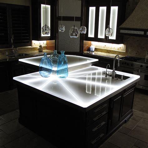 Glass   Countertop   Counter   Bar   Kitchen   Cast Glass