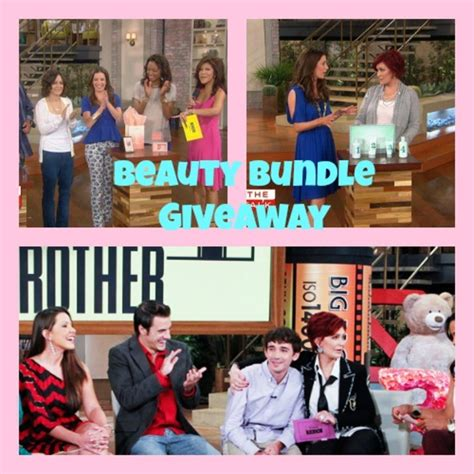 Talk Show Giveaways - giveaway beauty must haves from the talk momtrendsmomtrends